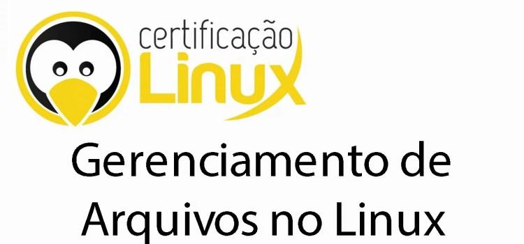 Gerenciamento de Arquivos no Linux