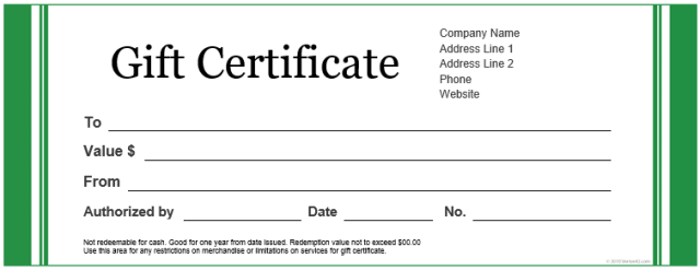 Gift certificate templates for word free download yadclub Choice Image