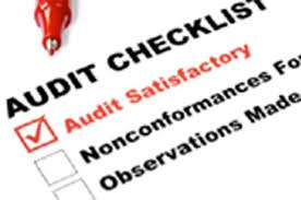 Food safety audit checklist