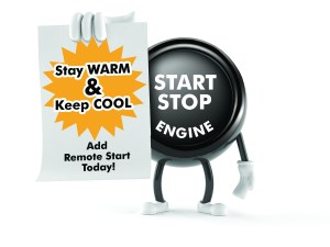 Compustar Remote Starter Button Dude