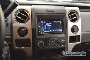 Pioneer 5100-NEX in a 2014 F-150 Abbotsford BC by Driven Auiod