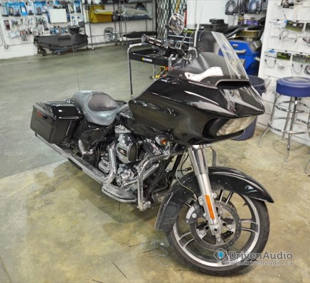 2015 Harley Road Glide Audio Upgrade