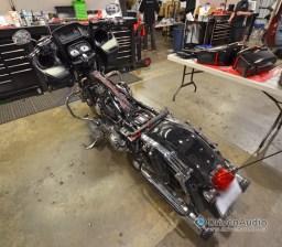 2015 Harley Road Glide Speaker upgrade