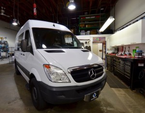 2007 Mercedes Sprinter Van AppRadio4