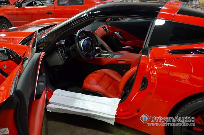 Corvette C7 Escort Max2 Radar