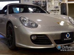 Porsche Cayman S Audio