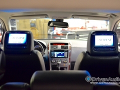 Mazda CX-9 with backseat headrest screens by Driven Audio Abbotsford BC