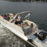 Sylvan Pontoon Boat Audio