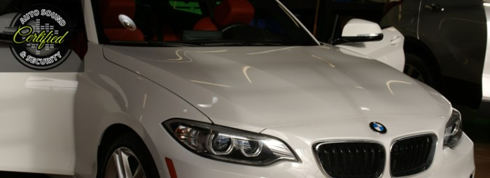 Chilliwack Client Upgrades 2-Series BMW Sound System