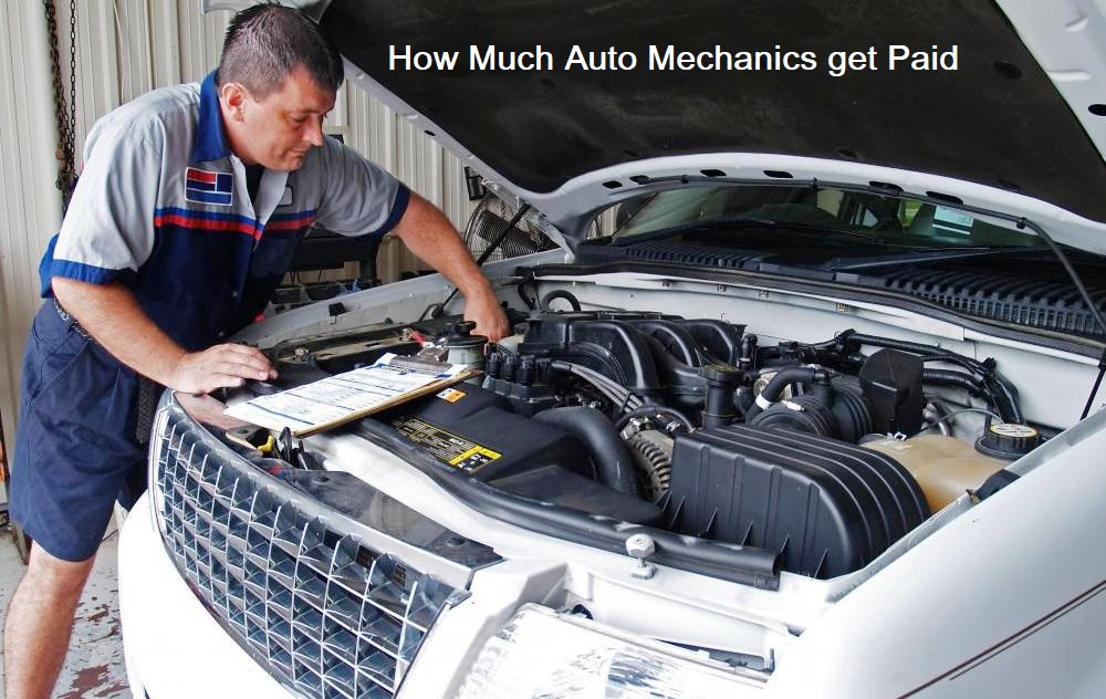 Discover How Much Auto Mechanics Get Paid Car Repair
