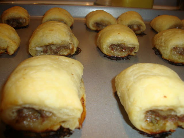 Tray Of Aussie Sausage Rolls