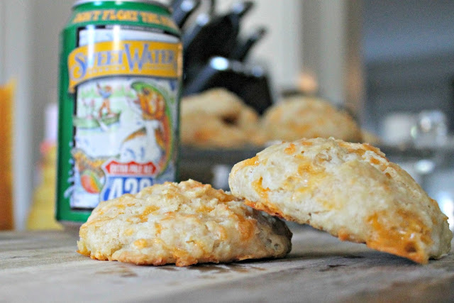 Beer and Cheese Biscuits - Super cheesy biscuits are taken to a whole other level with the addition of beer. You'll be shocked by how easy they are to make! Perfect for breakfast sandwiches or alongside your favorite dinner.