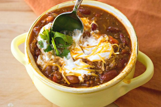 simple classic chili