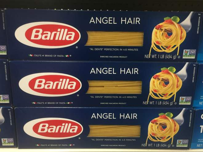 you can find Barilla at your local grocery store in the pasta aisle