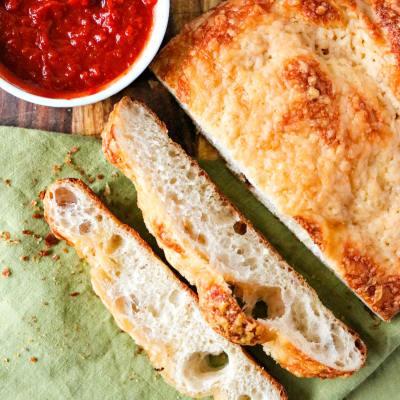 Easy Asiago Cheese Bread