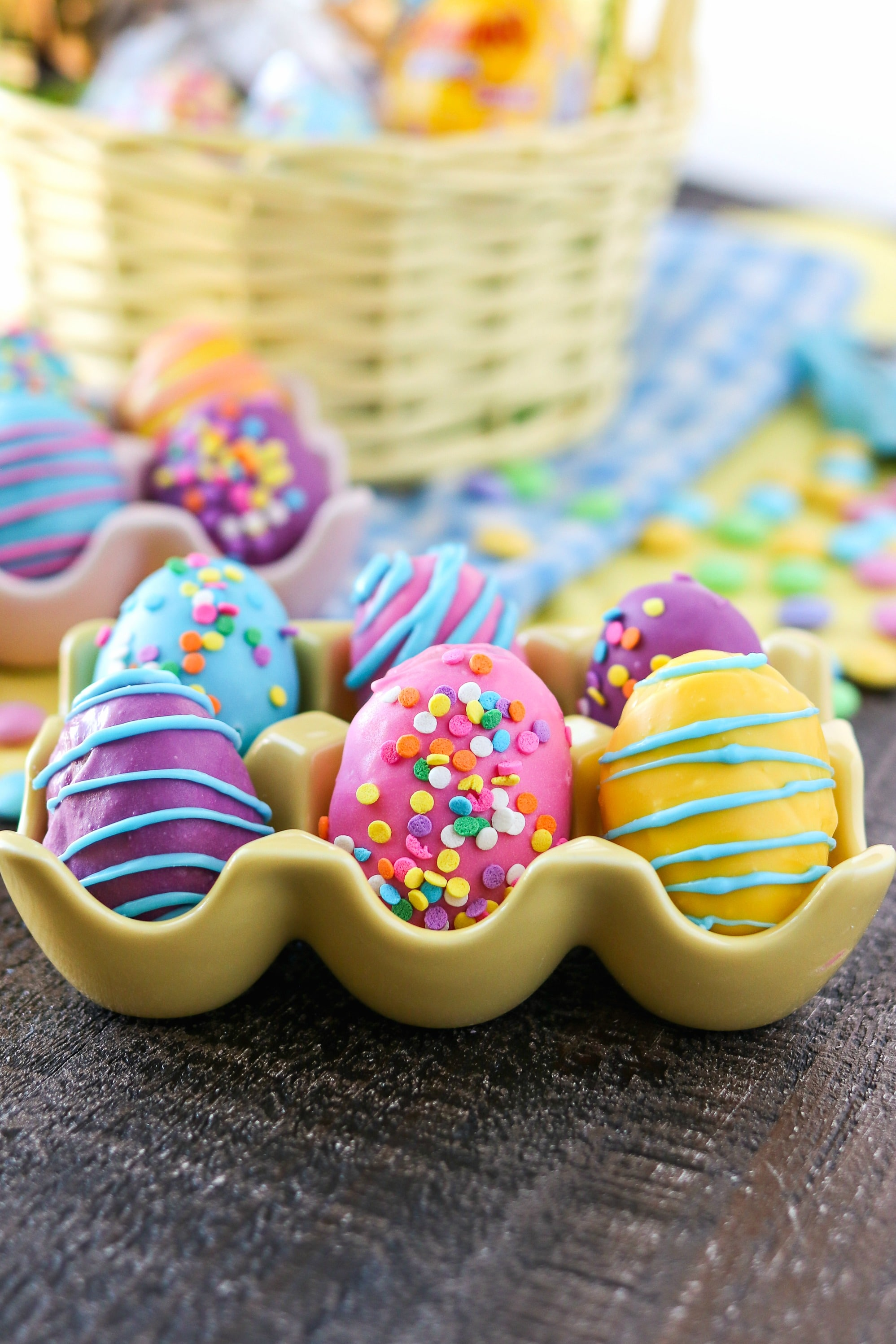 cookie dough easter eggs with m m s cpa certified pastry aficionado