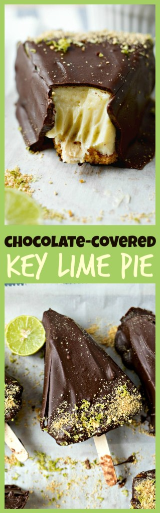 Chocolate-Covered Key Lime Pie photo collage