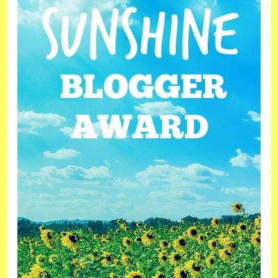 Bonus Post! Sunshine Blogger Award Nomination