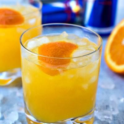 Electric Orange Pisco Sour