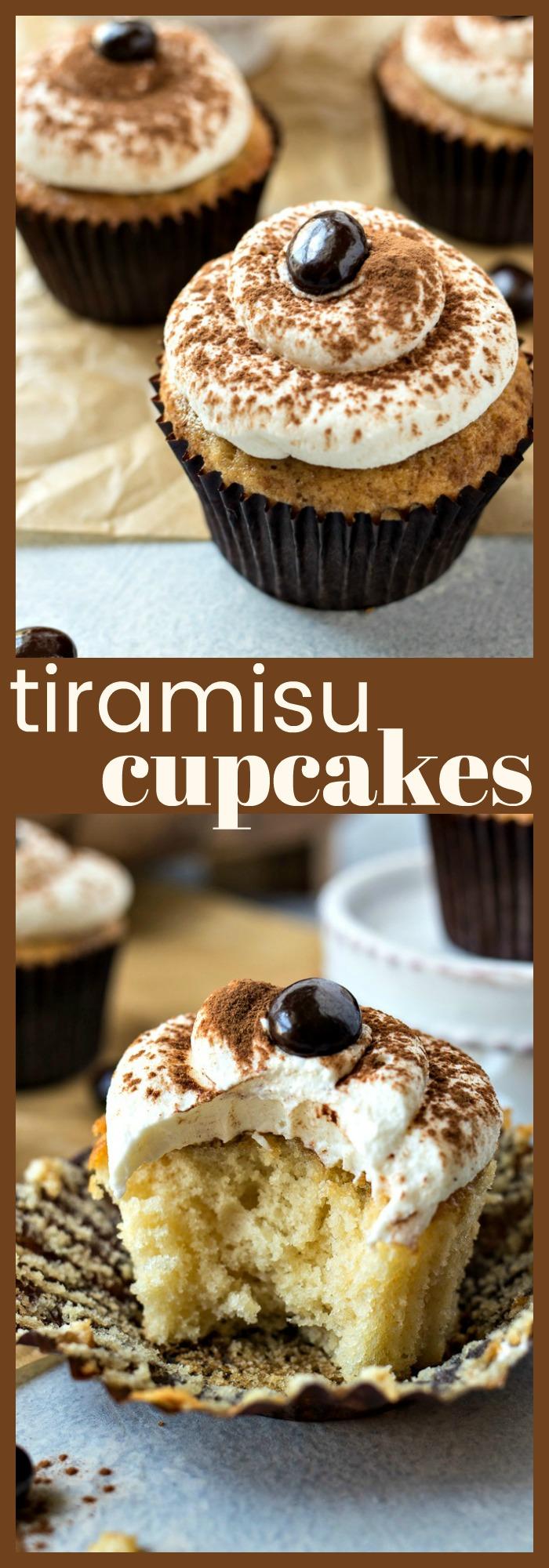 Tiramisu Cupcakes - CPA: Certified Pastry Aficionado