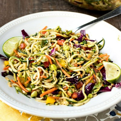 Asian Zoodle Salad