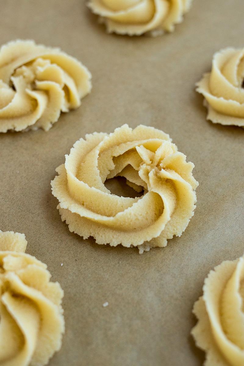 Danish Butter Cookie dough
