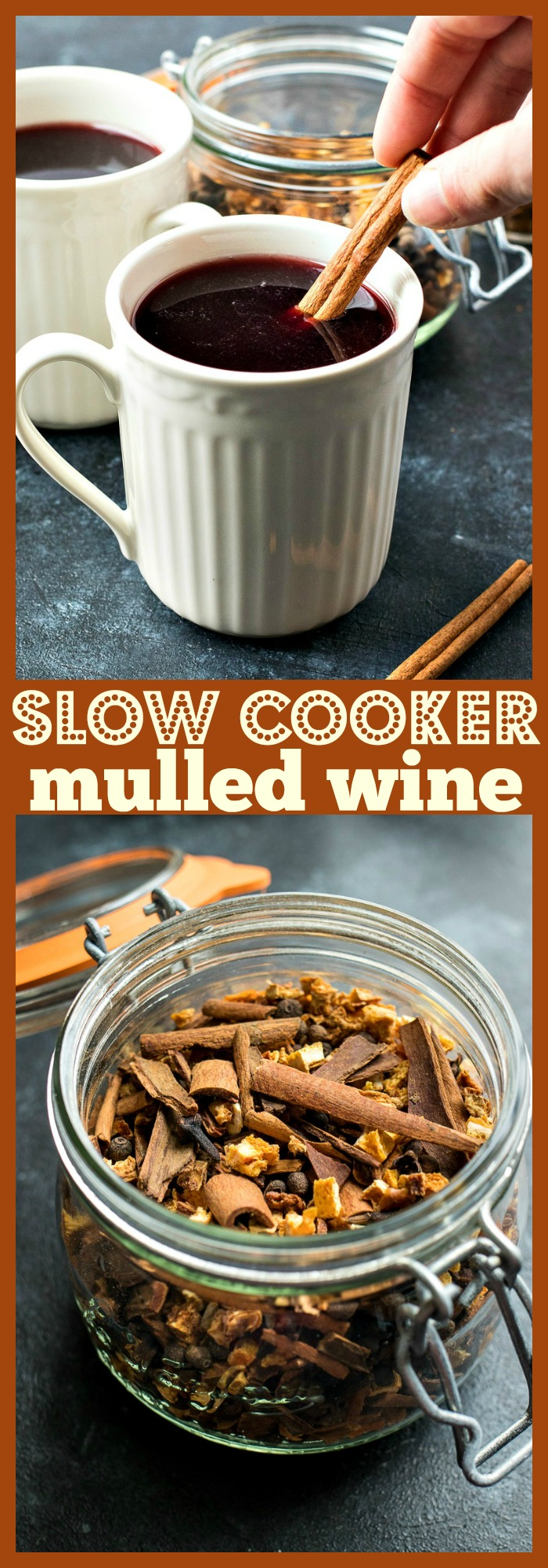 Slow Cooker Mulled Wine photo collage