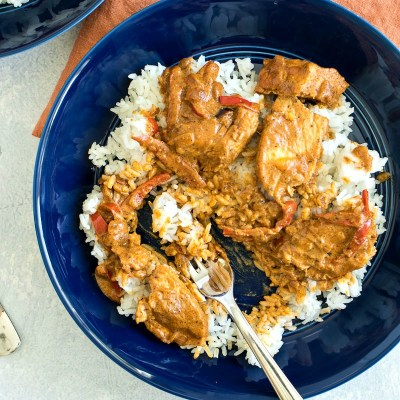 The Easiest Thai Chicken Curry