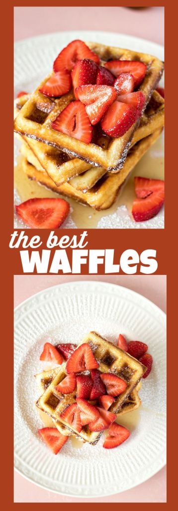 The best waffles photo collage