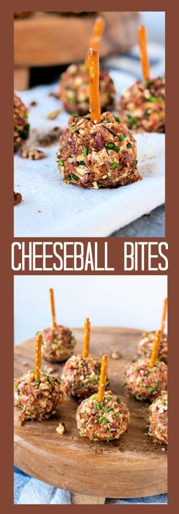 Cheeseball Bites photo collage