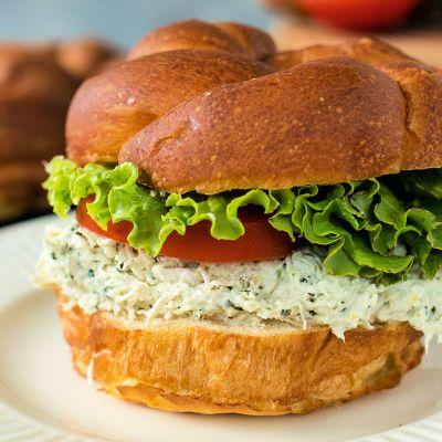 Lemon Basil Chicken Salad