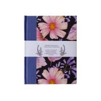 Llibreta artesanal tapa dura estampat floral
