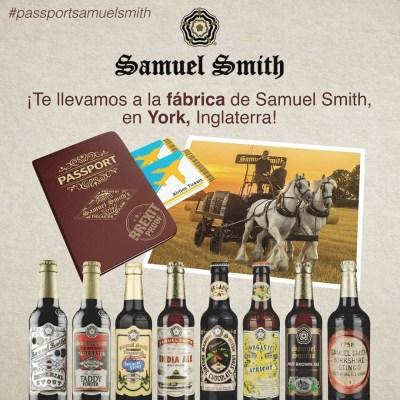 Pasaporte de Samuel Smith