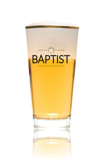 Baptist Blond vaso