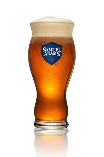 Samuel Adams Boston Lager vaso
