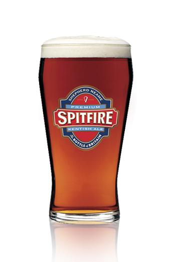 Shepherd Neame Spitfire vaso