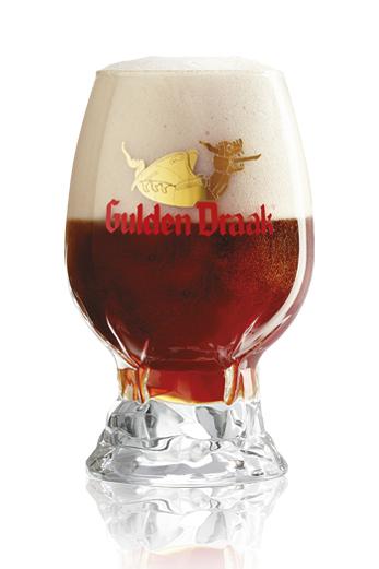 Gulden Draak Smoked vaso