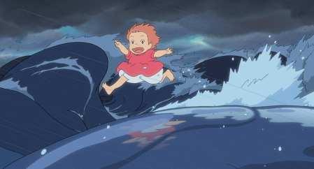 Ponyo z útesu nad mořem (2008)