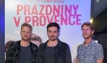 Prachař, Kotek, Pfauserová, Krausová a Nosek představili letní filmovou pařbu Prázdniny v Provence
