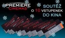 Zimní soutěž o pět párů VIP vstupenek do multikina Premiere Cinemas