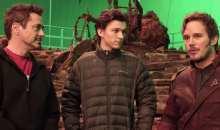 Z natáčení Avengers: Infinity War – Robert Downey Jr., Chris Pratt a Tom Holland