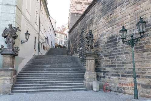 Cizinka - Radnické schody
