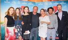 Premiéru filmu Špunti na vodě uvedli Chlumský, Langmajer, Liška, Vilhelmová a další