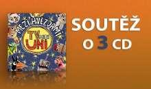 Hravá soutěž o 3 CD Písničky TvMiniUni 3: Mezi hvězdami