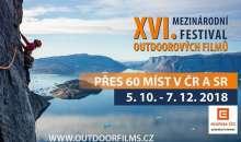 XVI. Mezinárodní festival outdoorových filmů startuje v Ostravě
