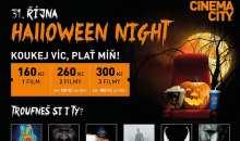 Halloween Night v Cinema City s filmy Venom, Sestra, Halloween, Hell Fest, Slender Man a Predátor Evoluce