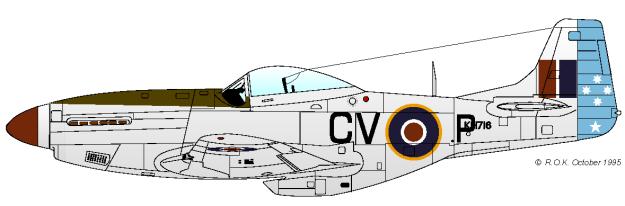 3° Squadron RAAF colorazione operativa a Milano Marittima