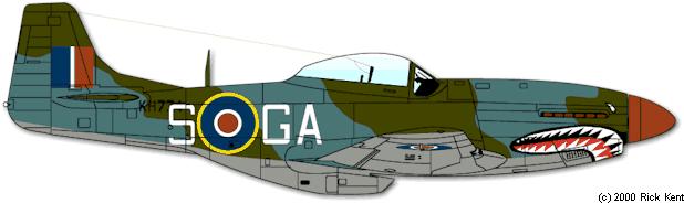 112° Squadron RAF colorazione operativa a Milano Marittima