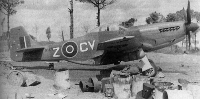 Aprile 1945, P-51K Mustang del 3° Squadron RAAF