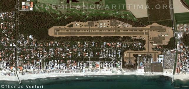 mappa aeroporto militare di milano marittima